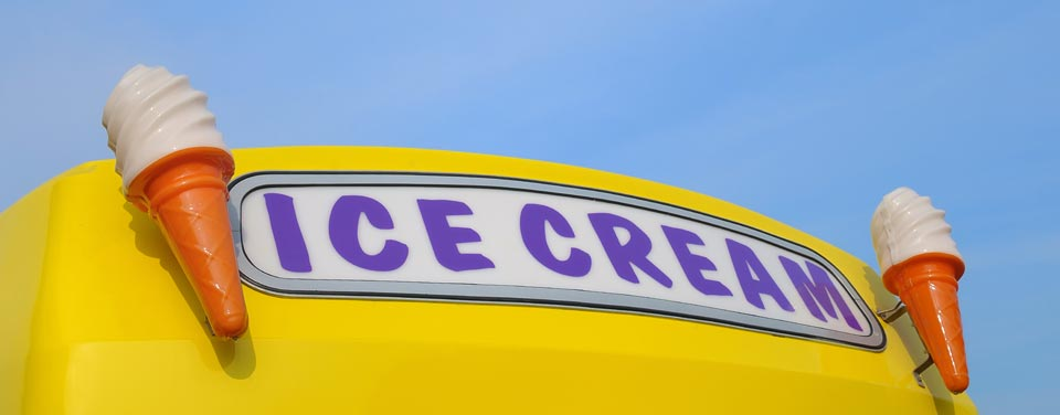Ice cream Van Banner