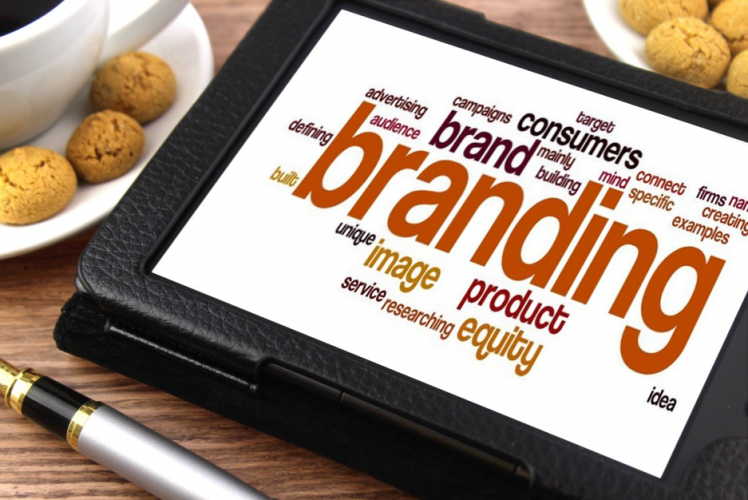 Branding word cloud tablet – 10 Reasons Why Companies Rebrand