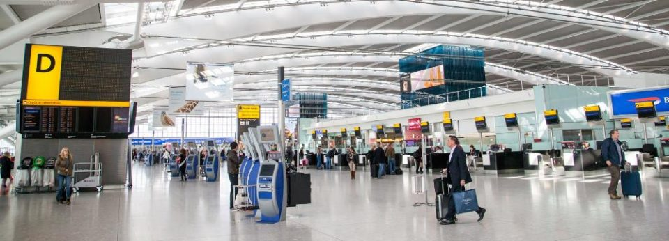 london heathrow terminal one active thinking