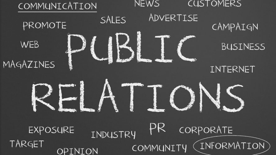 Good PR – Public Relations word cloud