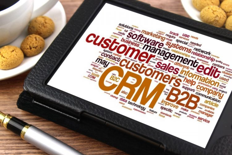 CRM tablet – customer relationship management strategy