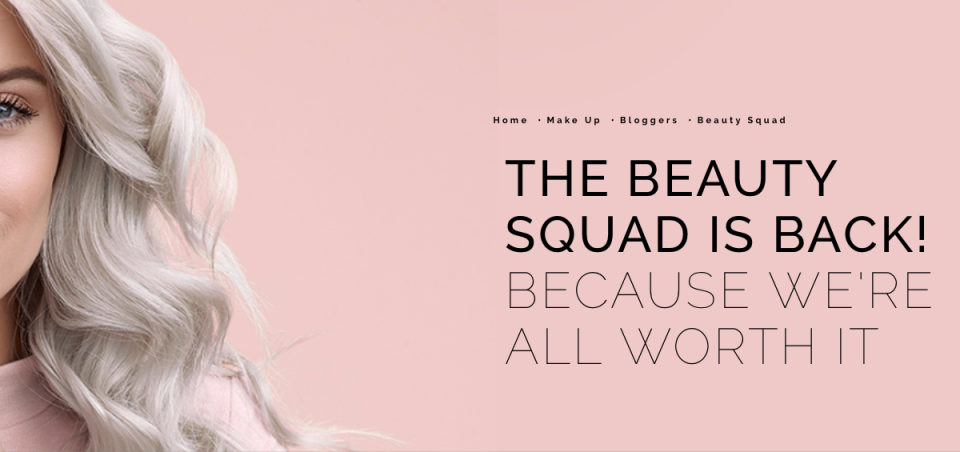 Beauty Squad L'oreal Paris content marketing