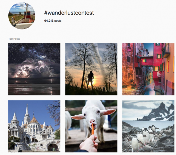 Wanderlust – National Geographic UGC marketing campaign